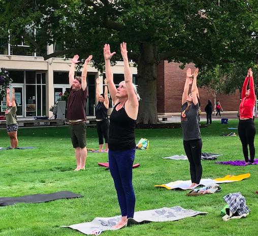 Park Yoga! Flow