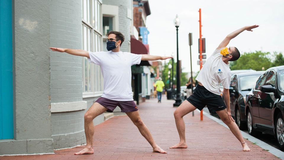 Outdoor Yoga: Flow 1/2 (Lamont Plaza)